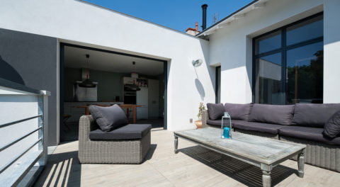 Extension, rénovation d'une maison à La Rochelle