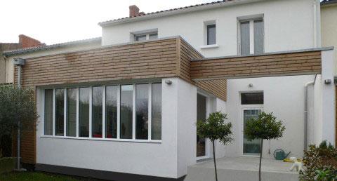 Maison B, extension sur le jardin