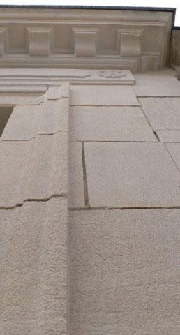 Maison ancienne UH, détail de façade - Rochefort-sur-Mer