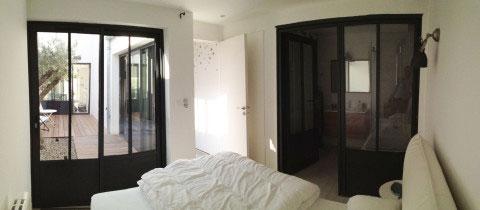 Projet d'architecte : Rénovation d'une maison de vacances sur l'Ile de Ré (Sainte-Marie-de-Ré), réorganisation de tout l'intérieur