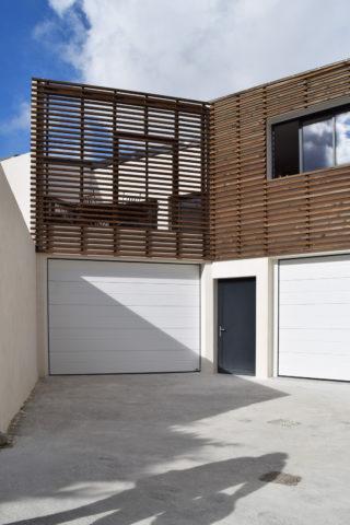 UBIK architectes - construction d'un bâtiment de stockage, bureaux et logement de fonction - la Rochelle - 2016