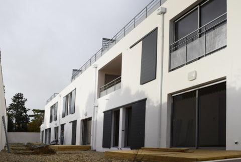 UBIK architectes // résidence de 21 logements et 2 commerces à la Rochelle
