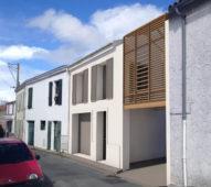 UBIK architectes // Maison Ak - Rénovation complète d'une maison suite à un incendie - La Rochelle - 2017