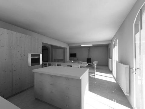 UBIK architectes // Maison Au - rénovation et extension d'une maison - Lagord - 2017